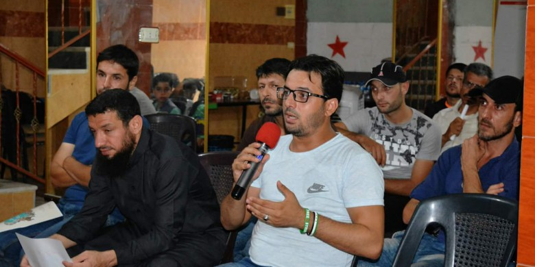 Meeting held in Idlib governorate