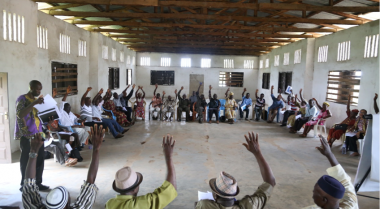 A Community-Centered Process for Peace and Sustainable Development